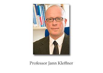 Professor Jann Kleffner